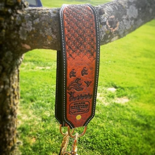Handmade Leather Lanyards