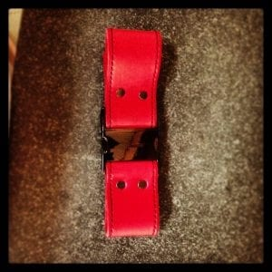 Red Box Strap Light