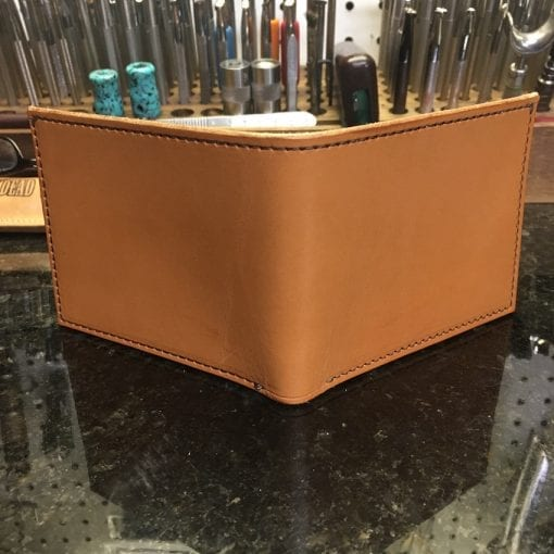 Handmade Bi-Fold Leather Wallet